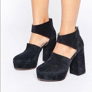 Free people Luxor platform heels